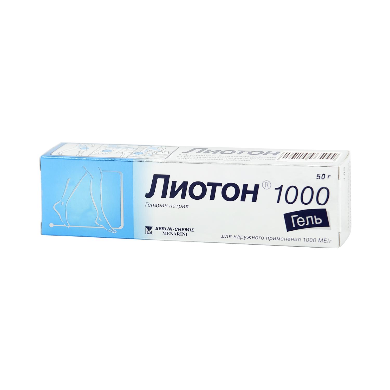 Лиотон 1000 гель 50г