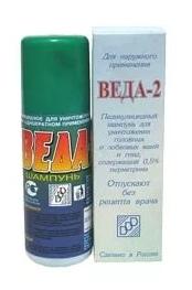 Веда-2 педикулицидный шампунь 100мл