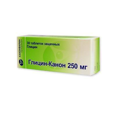 Глицин-Канон таб.защечн. 250мг №30