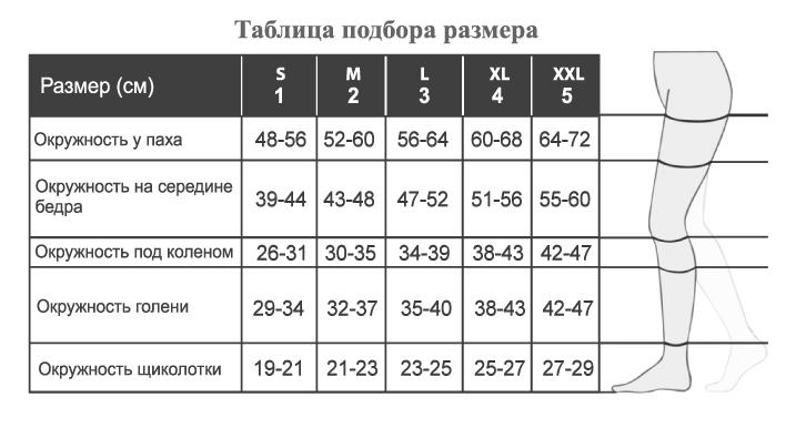 Релаксан чулки на резинке закрытый носок микрофибра К2 бежевые р.5 M2170